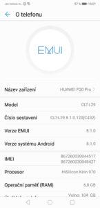 Huawei P20 Pro - Software