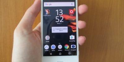 Recenzia Sony Xperia X Compact