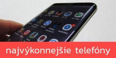Najvýkonnejšie mobilné telefóny – JAR 2019
