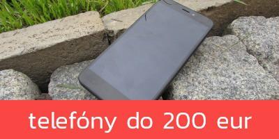 Najlepšie mobilné telefóny do 200 €
