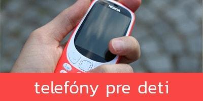 Najlepšie mobilné telefóny pre deti
