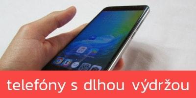 Mobilné telefóny s najdlhšou výdržou