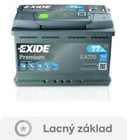 recenzia Exide Premium 12V 77Ah 760A EA770