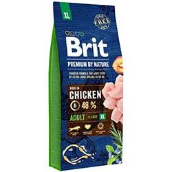 Brit Premium by Nature Adult XL 15 kg granule pre psov