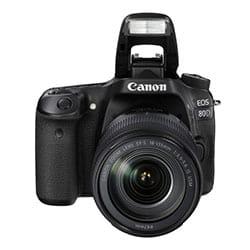 Canon EOS 80D digitálna zrkadlovka
