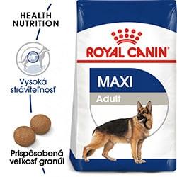 Royal Canin Maxi Adult 15 kg granule pre psov