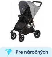 recenzia Valco Baby Snap 4 Sport black šedý 2017