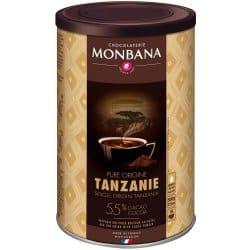 Monbana horúca čokoláda Tanzanie
