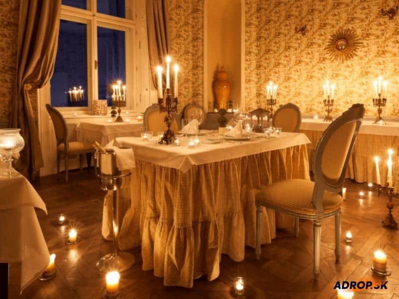 Večera pri 101 sviečkach