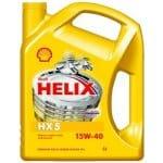 Motorový olej Shell HX5