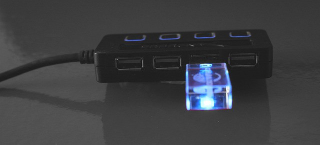 USB rozbočovač a prax