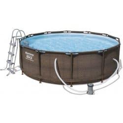 Bestway Steel Pro Max Rattan 366 x 100 cm 56709 bazén s konštrukciou