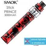 Recenzia Smoktech Stick Prince elektronická cigareta 3000 mAh Red Camouflage 1 ks