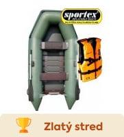 Nafukovací čln Sportex Shelf 270 recenzia