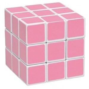 ružova rubikova kocka