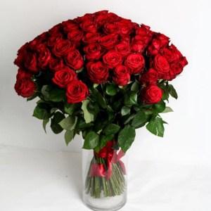 červene ruže