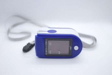 Použitie pulzného oximetra