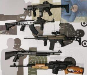 Army streľba na krytej streľnici