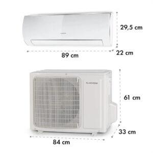 Windwaker Eco split klimatizácia rozmery