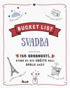 Kniha Bucket List-Svadba