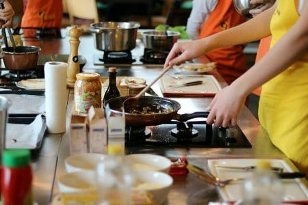 Kurz varenia pod vedením skúseného šéfkuchára