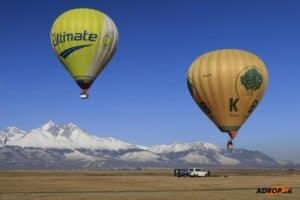 Súkromný let balónom