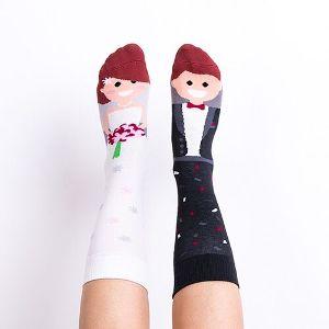 Veselé ponožky pre manželov